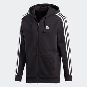 Adidas Originals Full-Zip Trefoil Hoodie Men's NEW